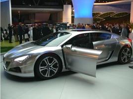peugeot hybrid concept8